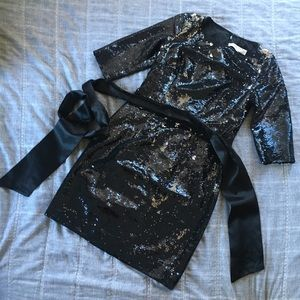 Trina Turk Sequin Dress Sz 0